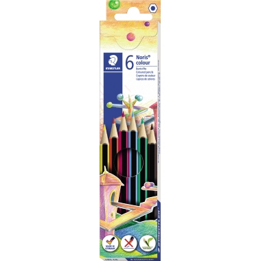 STAEDTLER® Farbstift Noris® colour 185 6 St./Pack.