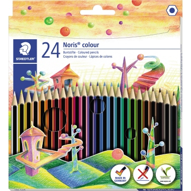 STAEDTLER® Farbstift Noris® colour 185  24 St./Pack.