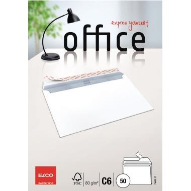 ELCO Briefumschlag Office  DIN C6 50 St./Pack.