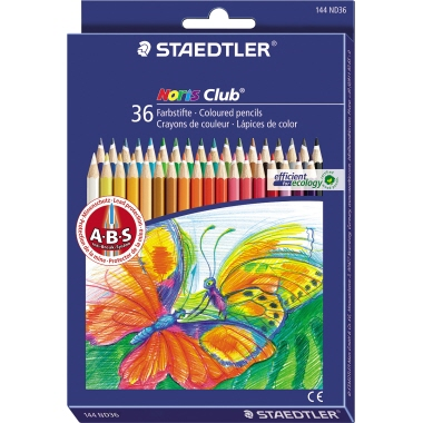 STAEDTLER® Farbstift Noris Club® 144  175 mm 36 St./Pack.
