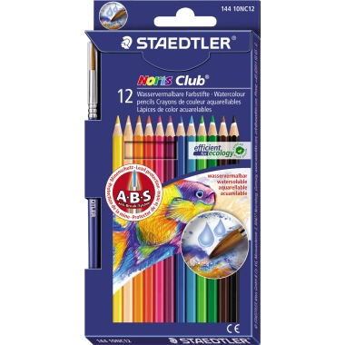 STAEDTLER® Farbstift Noris Club® aquarell  12 St./Pack.