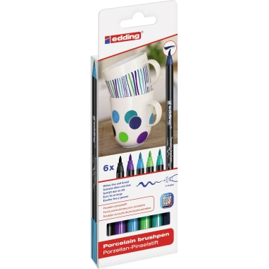 edding Porzellanstift 4200 6 St./Pack.