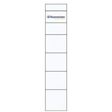 Soennecken Rückenschild 30 x 190 mm (B x H)