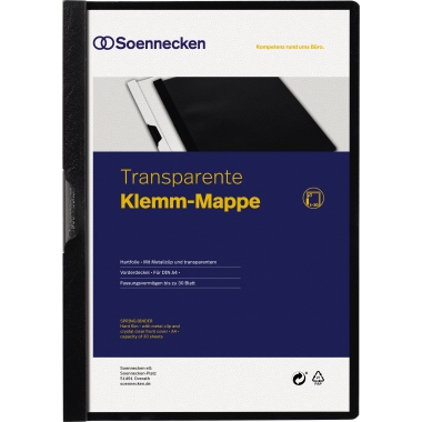 Soennecken Klemmmappe DIN A4