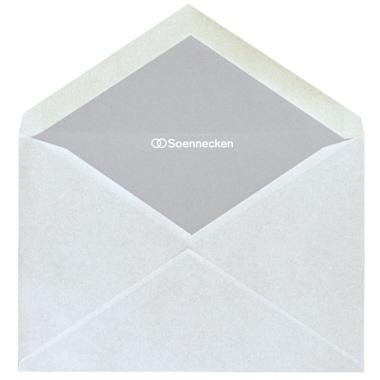 Soennecken Briefumschlag ohne Fenster  DIN C6
