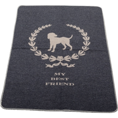 DAVID FUSSENEGGER textil Haustierdecke mybest friend  Hund