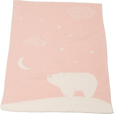 DAVID FUSSENEGGER textil Kinderdecke Eisbär