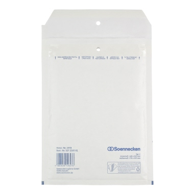 Soennecken Luftpolstertasche  C/0 weiß