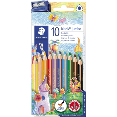 STAEDTLER® Farbstift triplus Noris Club® jumbo 128 10 St./Pack.