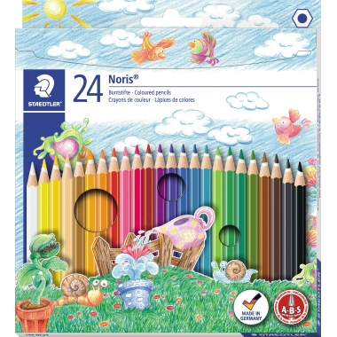 STAEDTLER® Farbstift Noris Club® 144  175 mm 24 St./Pack.