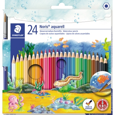 STAEDTLER® Farbstift Noris Club® aquarell  24 St./Pack.