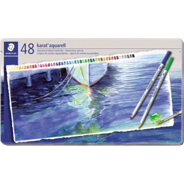 STAEDTLER® Farbstift karat® aquarell 125  48 St./Pack.