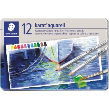 STAEDTLER® Farbstift karat® aquarell 125  12 St./Pack.