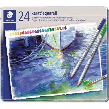 STAEDTLER® Farbstift karat® aquarell 125  24 St./Pack.