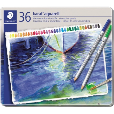 STAEDTLER® Farbstift karat® aquarell 125  36 St./Pack.