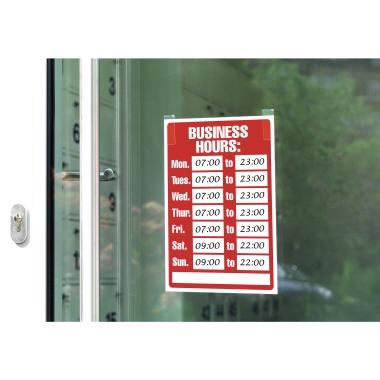 tesa® Klebepad Powerstrips® transparent Large
