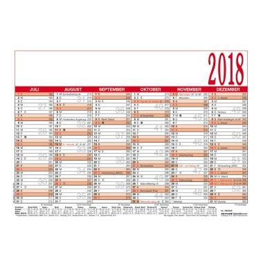 ZETTLER Tafelkalender 2018