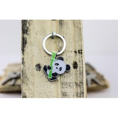 TROIKA® Schlüsselanhänger BAMBOO PANDA