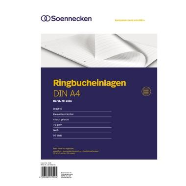 Soennecken Ringbucheinlage DIN A4