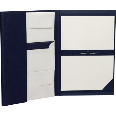 Paper Royal Briefpapiermappe  blau