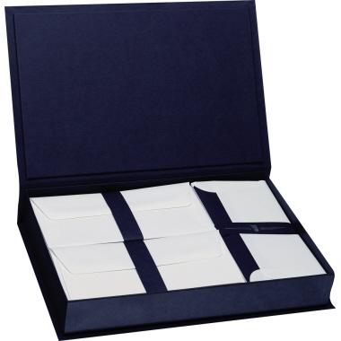 Paper Royal Briefpapierkassette  35,4 x 23,8 x 5,8 cm (B x H x T) marine blau