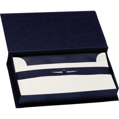 Paper Royal Briefpapierkassette 23,5 x 13 x 3,9 cm (B x H x T) marine blau