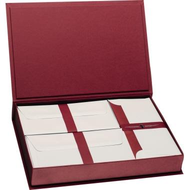 Paper Royal Briefpapierkassette  35,4 x 23,8 x 5,8 cm (B x H x T) bordeaux