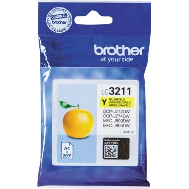 Brother Tintenpatrone LC3211Y