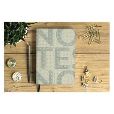Artebene Notizbuch beige/grau