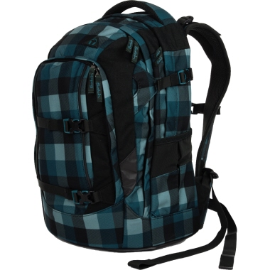Satch Schulrucksack pack Blue Bytes