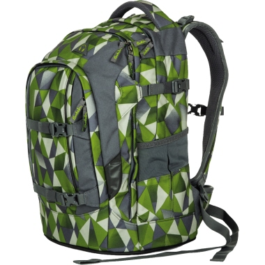 Satch Schulrucksack pack Green Crush