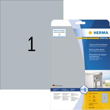 HERMA Typenschildetikett SPECIAL 210 x 297 mm (B x H)