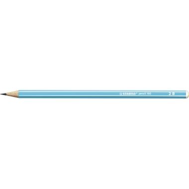 STABILO® Bleistift pencil 160 2B ohne Radierer