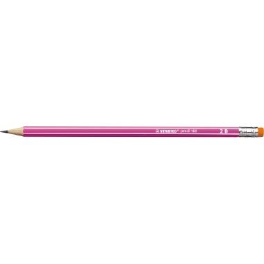 STABILO® Bleistift pencil 160 2B mit Radierer