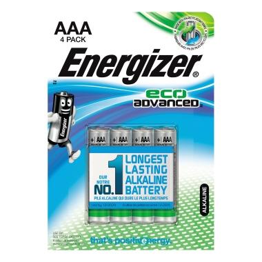 Energizer® Batterie EcoAdvanced Micro/AAA