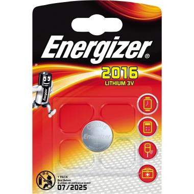 Energizer® Knopfzelle CR2016 3 V