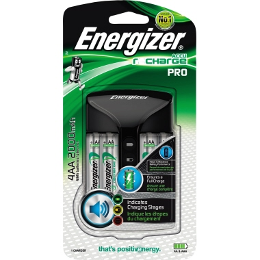 Energizer® Akkuladegerät Pro Charger