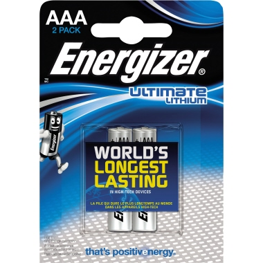 Energizer® Batterie Ultimate Lithium L92