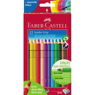 Faber-Castell Farbstift Jumbo GRIP 12 St./Pack.