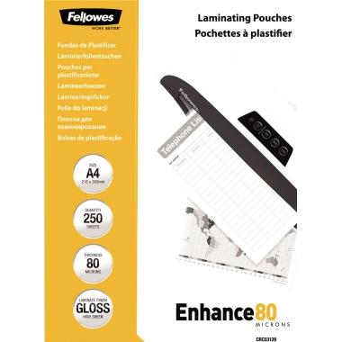 Fellowes® Laminierfolie Enhance 80 224 x 300 mm (B x H)