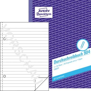 Avery Zweckform Durchschreibebuch DIN A5