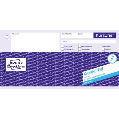 Avery Zweckform Kurzbrief