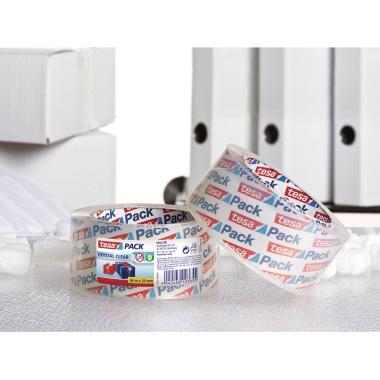 tesa® Packband tesapack® Crystal Clear