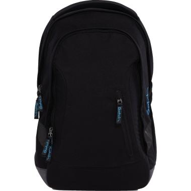 Satch Schulrucksack sleek Black Bounce