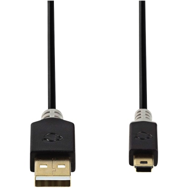 Nedis USB-Kabel USB-A-Stecker/5-Pin-Mini-Stecker