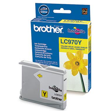 Brother Tintenpatrone LC970Y