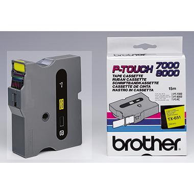 P-touch Schriftbandkassette  TX-651
