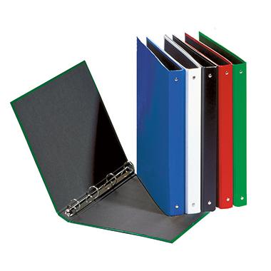PAGNA Ringbuch Basic Colours DIN A4 4 Ringe, Rundmechanik