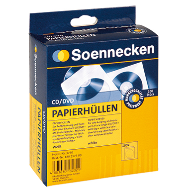 Soennecken CD/DVD Hülle