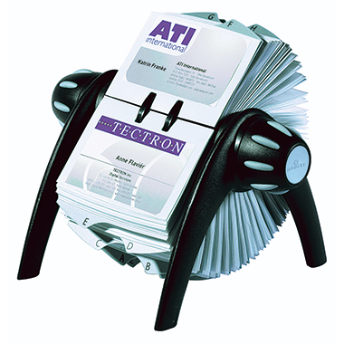 DURABLE Rollkartei VISIFIX® FLIP VEGAS inkl. 200 Visitenkartenhüllen